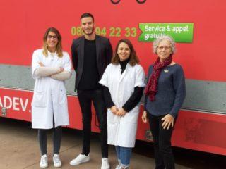 Les bénévoles du Bus du Glaucome