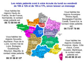 carte relais patients
